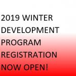 2019 Winter Program Registration Now Open!