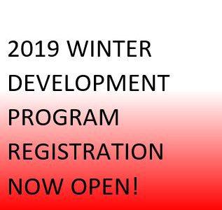 2019 Winter Program Registration Now Open!