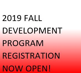 2019 Fall Program Registration Now Open!