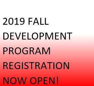2019 Fall Program Registration Now Open!